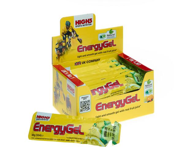 High5 EnergyGel Box 20x40g Lemon